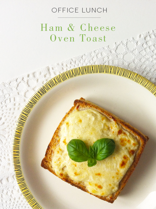Ham Cheese Oven Toast – Recipe on Carrie Can Blog