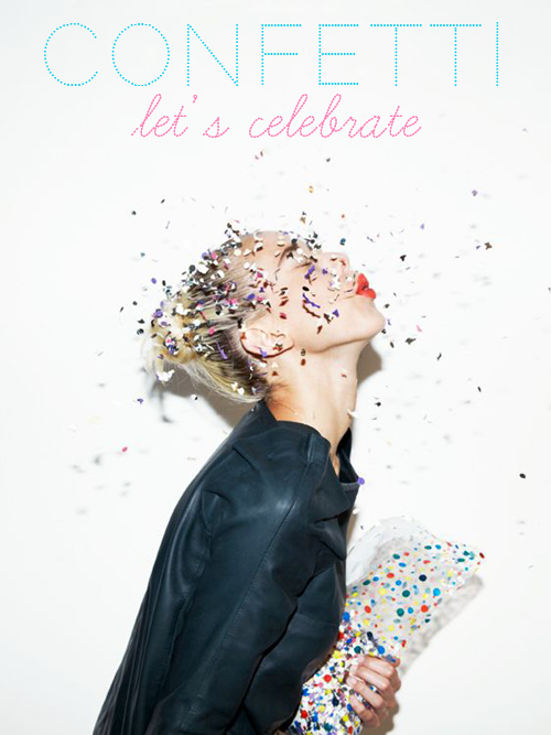 About carnival, confetti and instant celebrations - Read more on carriecanblog.com