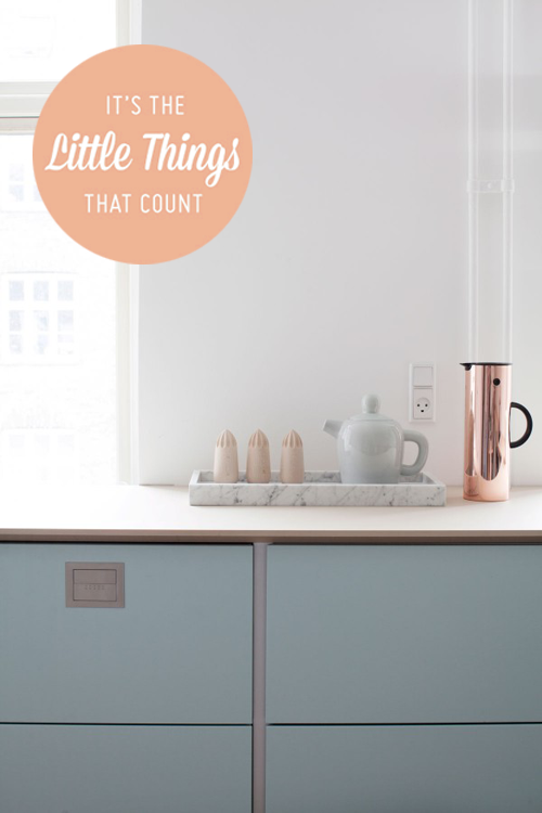 Little things – Kitchen details on carriecanblog.com