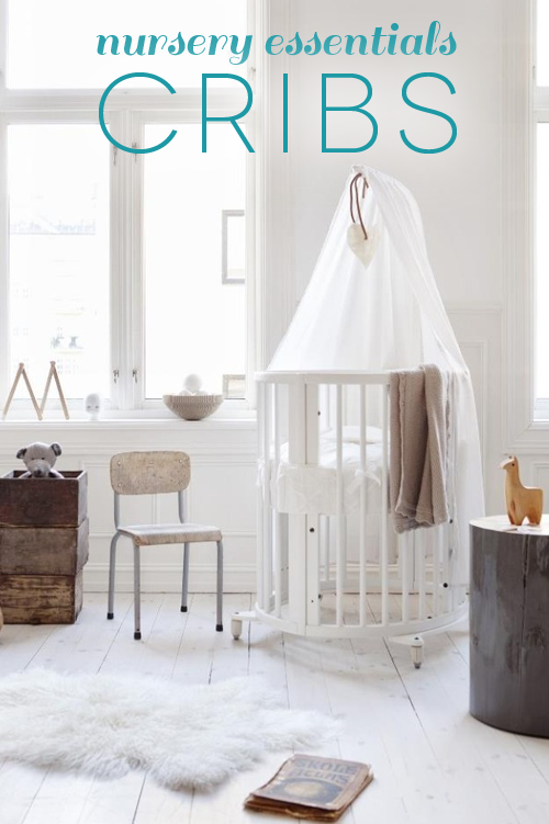 nursery essentials - cribs on www.carrriecanblog.com