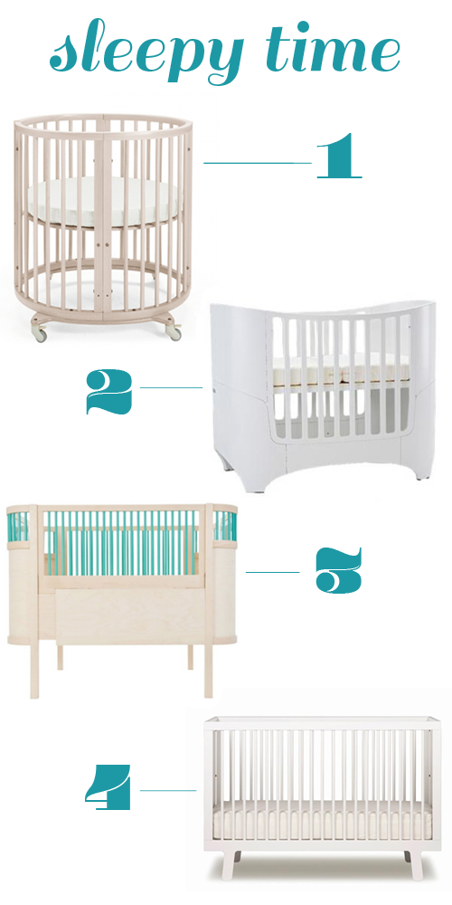 nursery essentials - cribs wishlist on www.carriecanblog.com