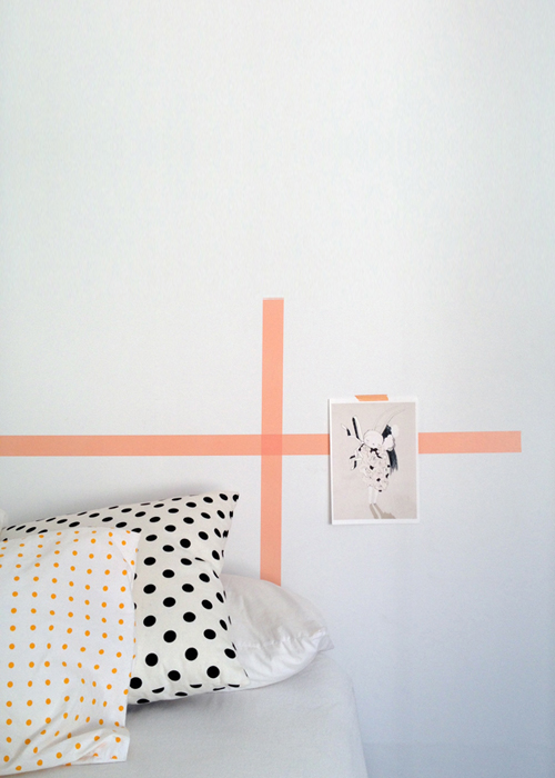 papertrail - DIY washi tape wallart on carriecanblog.com