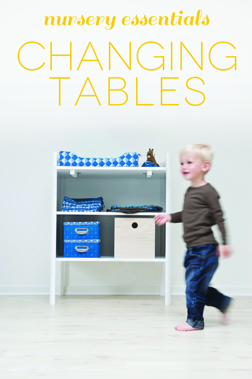 nursery essentials: nursing table wishlist on carriecanblog.com