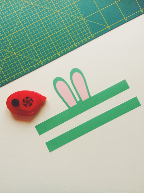 Easter DIY – Baby bunny ears – free printable